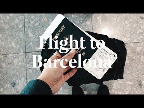 TRAVEL VLOG: Getting to Barcelona
