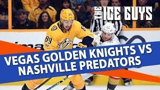 NHL Picks | Vegas Knights vs. Nashville Predators Preview | Ice Guys