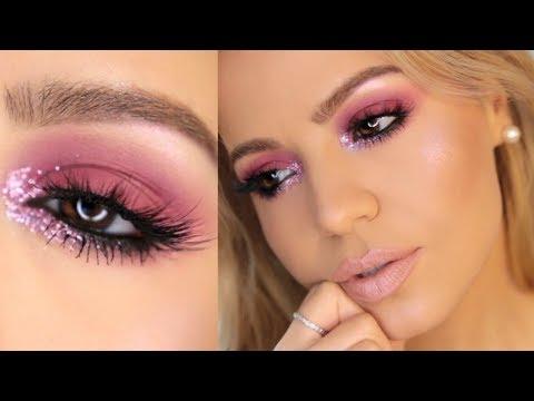 affordable-glitter-makeup-tutorial-|-#glitter-#affordable