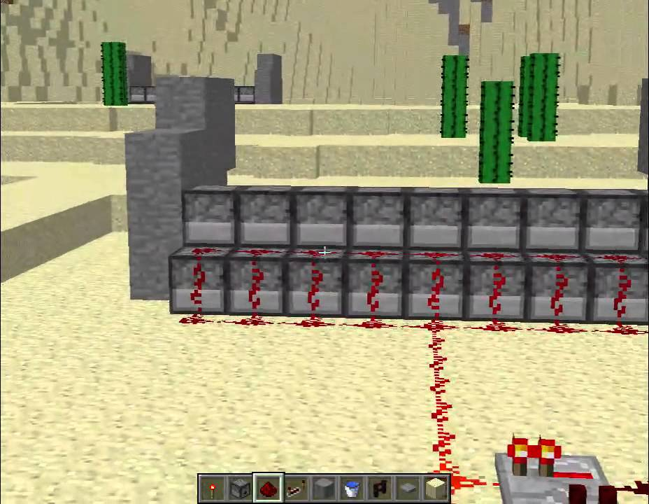 how to build a tnt cannon in minecraft pc
