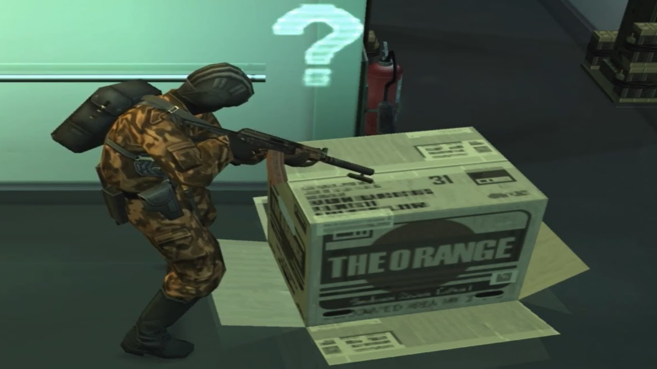 Evolution of the Cardboard Box throughout the Metal Gear Series - YouTube