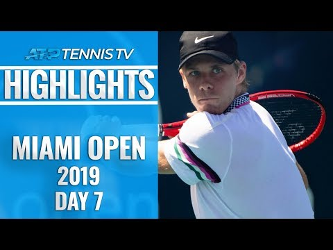Shapovalov Stars In The Early Hours; Djokovic Crashes Out | Miami Open 2019 Day 7 Highlights