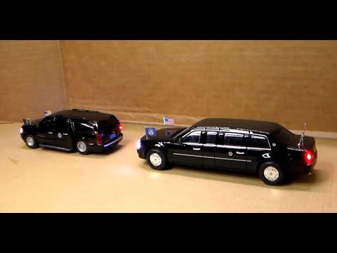 Custom-Lit Presidential Motorcade Cars