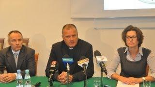 Konferencja prasowa na temat sytuacji KUL w Stalowej Woli