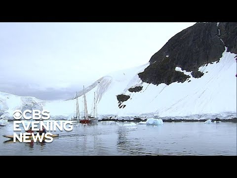 NASA tracking melting ice in Antarctica