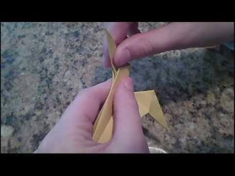 Origami Leopard Super Easy Video Tutorial for Kids Folding ... | 360x480