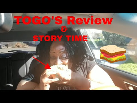 TOGO'S Sandwich review and Story time