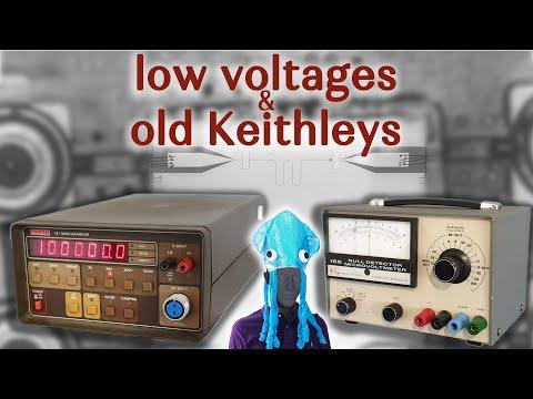 Смотрите сегодня видео новости Measuring low voltages with old Keithleys на  онлайн канале Russia-Video-News Ru