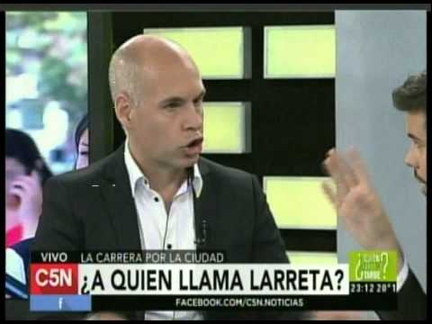 C5N -  POLITICA: ENTREVISTA A FONDO CON HORACIO RODRIGUEZ LARRETA