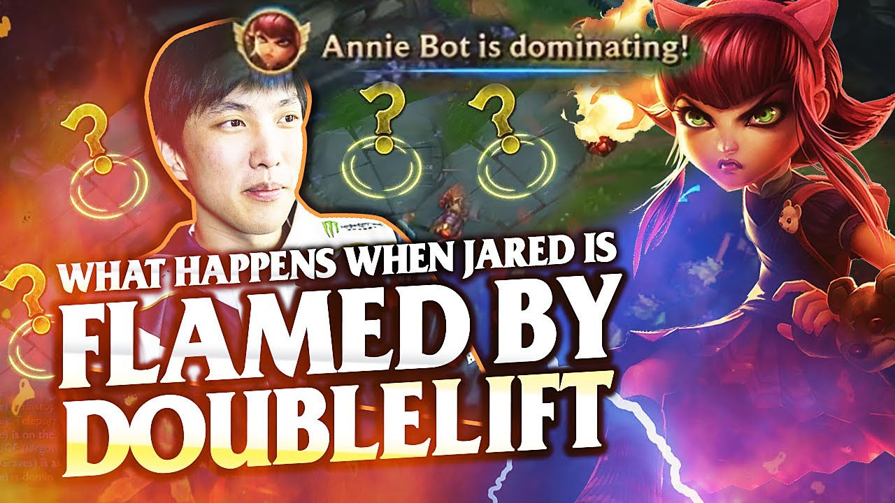 Doublelift Flames Me but Perhaps he Flamed Too Soon... | Annie Bot