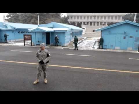 North-South Korea Border, Panmunjom DMZ