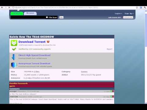 How to download Saints Row The Third [Full Version] [Torrent]