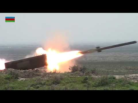 Боевые стрельбы ТОС-1А