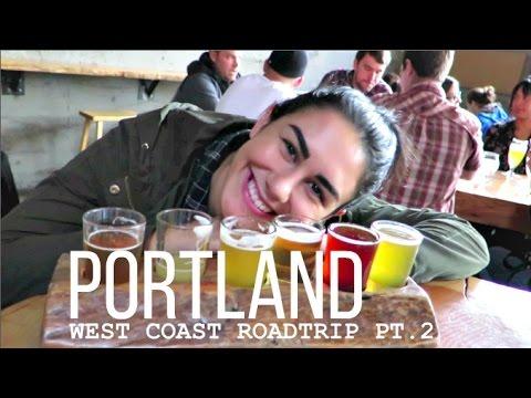Single Handely Keeping Portland Weird | WEST COAST ROAD TRIP PART 2 | Lesbian Couple