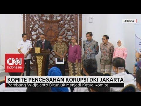 Anies Bentuk Komite Pencegahan Korupsi DKI Jakarta, Dipimpin Bambang Widjojanto