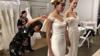MARCHESA | Spring 2019 Bridal | buying meeting