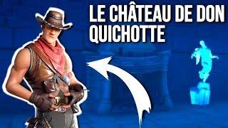 LE CHATEAU DE DON QUICHOTTE SUR FORTNITE CREATIF - UNE FAMILLE PLEIN DE SECRETS !!