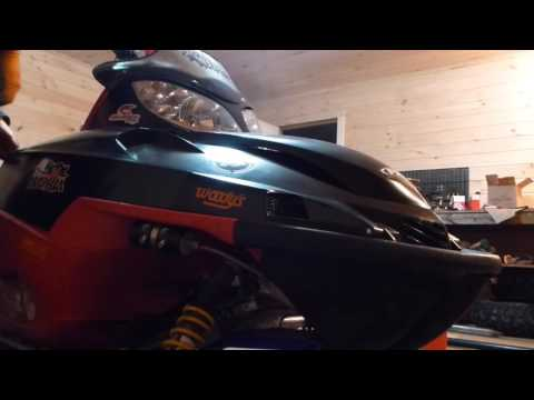 2003 Arctic Cat Firecat F7 SnoPro - how to bleed air from coolant system