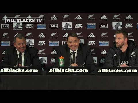 PRESS CONFERENCE: All Blacks defeat Argentina 46 - 24