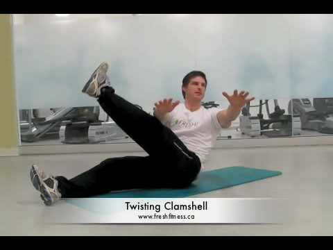 Clamshell Exercise Video Clamshell Exercise