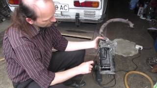 Tozalash muffler Honda AF 24 Tact