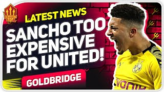 Solskjaer Can't Afford Sancho! Man Utd Transfer News