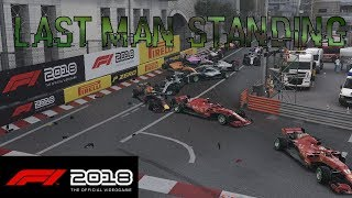 F1 2018 Last Man Standing