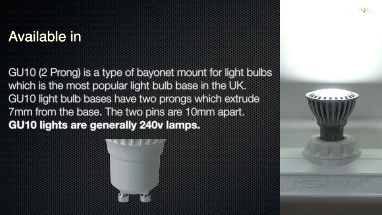 Crompton LED GU10 COB • 4W • 3000K • GU10 WARM WHITE 230LM
