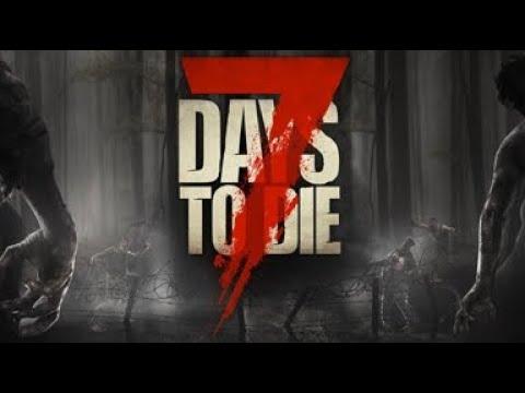 7 Days to Die. PC. Boring mine preparation work