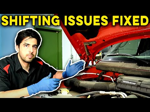 how-to-fix-an-automatic-transmission-that-won't-shift---replace-pressure-solenoid,-fluid-and-filter