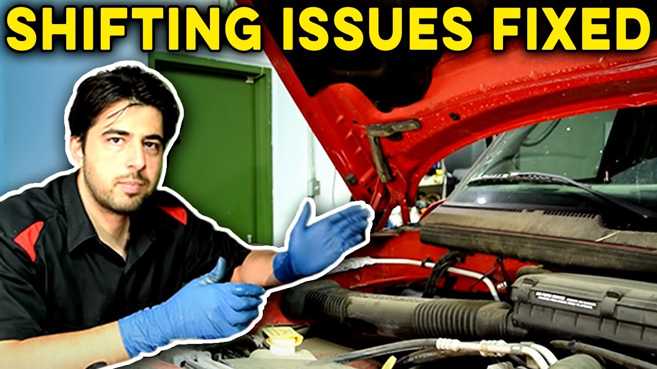 how to fix an automatic transmission that won t shift replace pressure solenoid fluid and filter [ 1280 x 720 Pixel ]