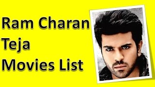 Ram charan teja movies list