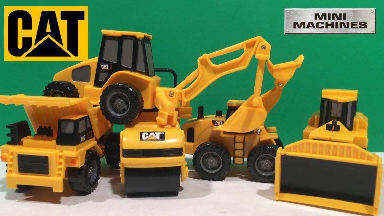 cat machine toys