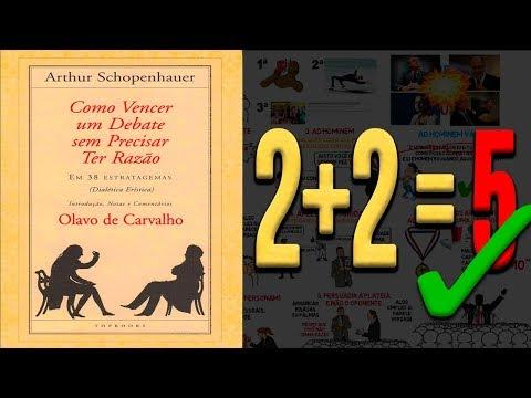 COMO VENCER UM DEBATE SEM PRECISAR TER RAZÃO Por Arthur Schopenhauer Exemplos