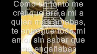 Otra Vez Vuelvo A Caer (Compositor) Enrique Lopez