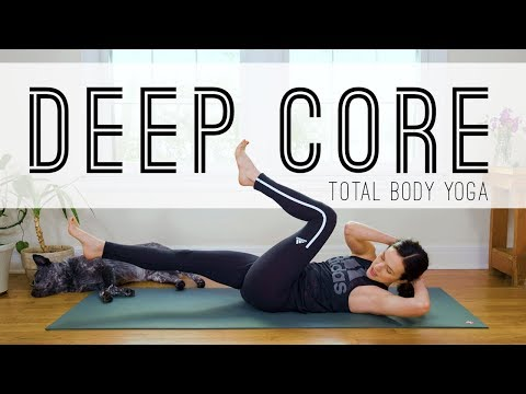 Total Body Yoga  -  Deep Core  -  Yoga With Adriene