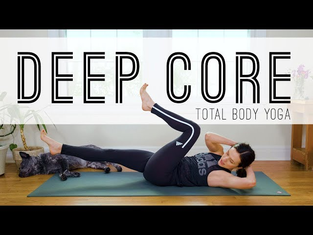 Total Body Yoga  -  Deep Core  -  Yoga With Adriene