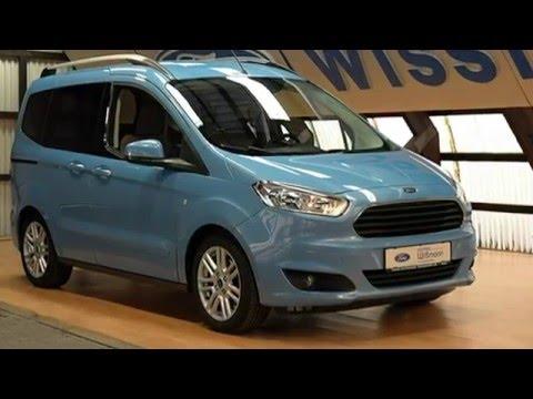 "Ford Tourneo Courier Titanium TACLFL62745 Skyline Blue Metallic ""AUTOHAUS WISSMANN"""