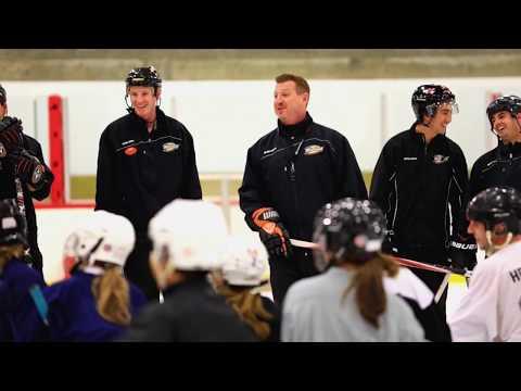 Ducks Staff Learn to Play - The Rinks - Anaheim ICE