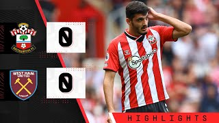 Саутгемптон  0-0  Вест Хэм видео