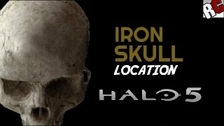 Halo 5 Guardians Iron Skull Location in Glassed (Mission 3 Glassed Skull)