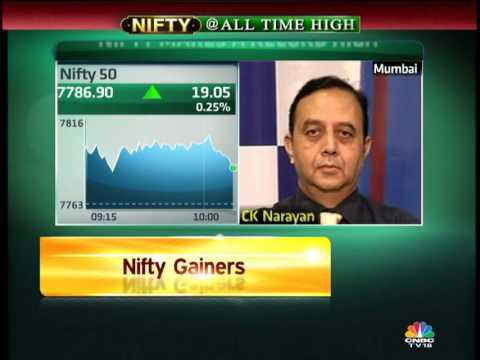 Bazaar - Nifty At Record High -- Ambareesh Baliga & CK Narayan - 23 Jul'14