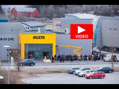 400 møtte opp til åpningen av Rusta i Bodø.