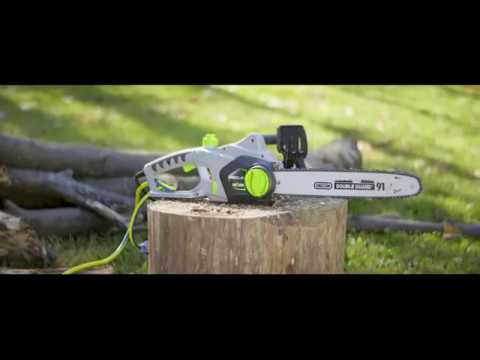 Earthwise 16 in electric chainsaw youtube earthwise 16 in electric chainsaw greentooth Image collections