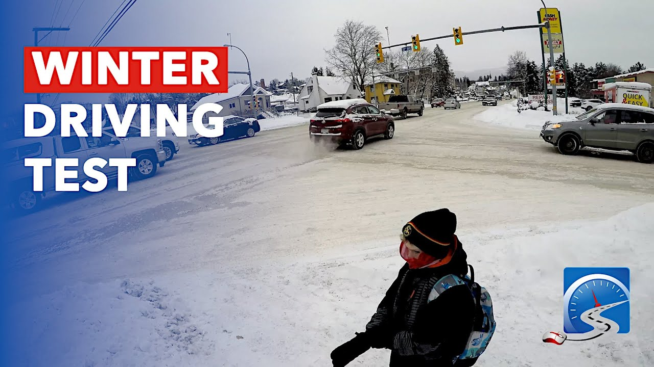 How to Pass Driver\'s License Road Test on Snow & Ice in the Winter ...