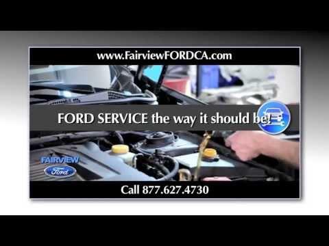 FORD SERVICE & REPAIR San Bernardino, Fontana, Riverside CA - PARTS & MAINTENANCE 877.627.4730