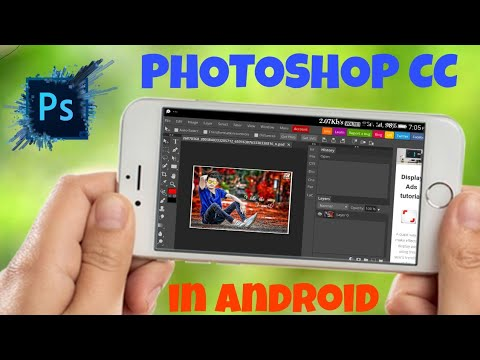 Adobe Photoshop Cc In Android Mobile || Use Photoshop Cc In Mobile || How To Use Photoshop In Mobile