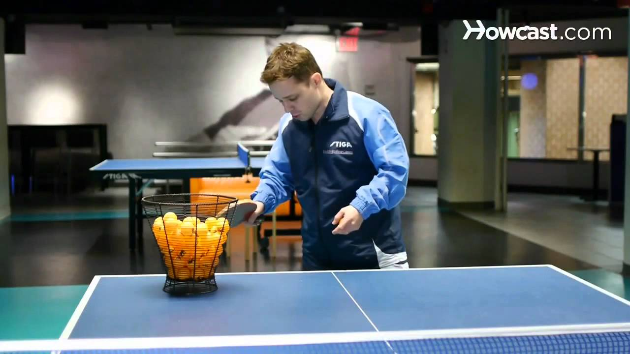How To Do A Table Tennis Forehand Smash Ping Pong Youtube