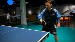 How to Do a Table Tennis Forehand Smash | Ping Pong