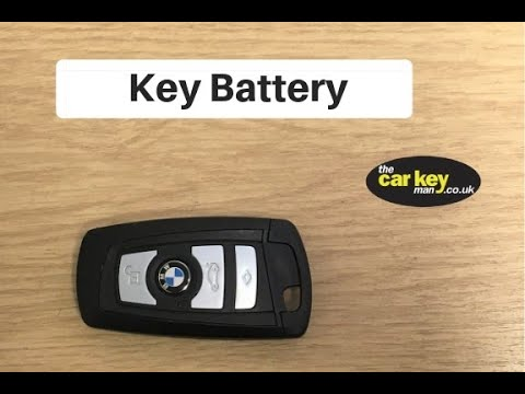 How to change bmw key battery
